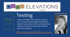 """Daily Perspective Day 27 