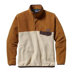 Patagonia Men's Lightweight Synchilla® Snap-T® - Our iconic fleece pullover now in spring-weight polyester with solid and print options.