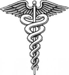 The caduceus, esoterically, is associated with the moral balance, the path of initiation and ascension path of kundalini energy. The snake on the right is called Od, which represents life freely directed, the left-Ob, fatal and life at the top Golden Globe Aur, which represents a balanced light. These two antagonistic serpents opposing forces that can associate but not confused.