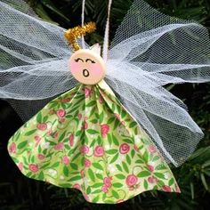 The Learning Train: Paper Angel craft to make for yourself or give (Ages 5 to Adults) - tinkerbellfairyprincess@gmail.com - Gmail