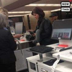 This woman bought a plane ticket for a stranger who couldnt afford it #news #alternativenews