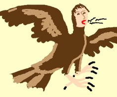 Brown crow with human head crowing drawing by tydlitadytydlitam - Drawception Funny Drawings, Easy Drawings, Crows Drawing, Human Head, Drawing Games, Brown, Pictures, Art, Photos