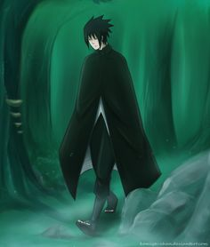 Lonely path by Komiya-chan on DeviantArt #sasuke