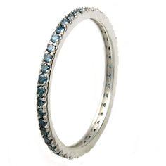 Round cut diamond Ring10-Karat White Gold Jewelry