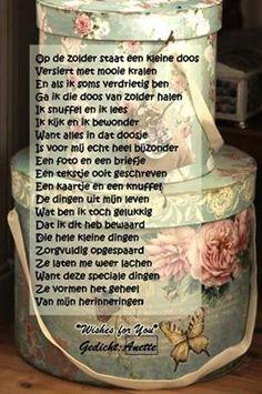 . Memory Album, Dutch Quotes, Verse, Poems, Friendship, Scrapbook, Letters, Memories, Thoughts
