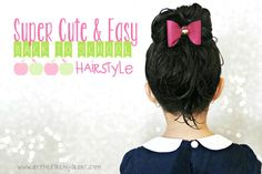 Super Cute & Easy Back To School Hairstyle #NoMoreTangles #ad #sweepstakes