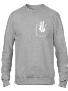 pocket samara funny Crewneck Sweatshirt