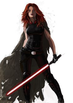 Mara Jade by ~nbashowtimeonnbc on deviantART