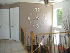 Wall clock wood barn-Wood Barn wall-Clock 3D by Horloge3DWoodBarn