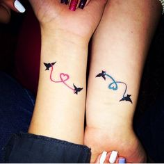 Our sister tattoos