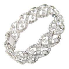 1stdibs - Cartier Platinum Diamond Bracelet explore items from 1,700  global dealers at 1stdibs.com