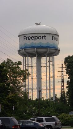 From what I've seen so far, Freeport NY has the best looking Water Tower on Long Island.