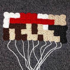 Mario is coming along nicely! 6 more rows and a border to go!  #crochels #crochet #crocheting #etsyusa #etsyprepromo #etsyfinds #etsyshopowner #etsyseller #etsy #etsystore #crochetseller #crochetblog #kawaiicrochet #crochetersofinstagram #supporthandmade #geekycrochet #handmade #handmadecrochet #amazonhandcrafted #handmadeatamazon #mario #supersmashbros #supermariobros #8bit #8bitmario #grannysquare #supersmashbrothers #supermario #geekery #geeking