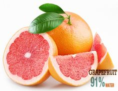 The grapefruit was bred in the century as a cross between a pomelo and an orange. They were given the name grapefruit because of the . Health Benefits Of Grapefruit, Grapefruit Diet, Pink Grapefruit, Healthy Smoothie Ingredients, Healthy Smoothies, Vodka, Lower Blood Sugar, Cleanse Recipes, Cleaning Recipes
