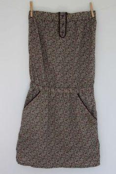 La fille qui rêvait d'avoir sa robe bustier en liberty !!!! - Emma et Noah, de…