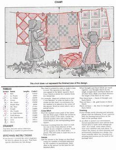 Schema punto croce Quilt 02