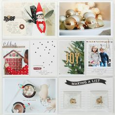 """stephanie makes: Project Life: """"Hello December"""""""