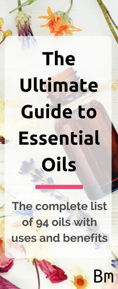 Learn about the benefits of over 94 essential oils and how to use them for clearer skin, longer hair, better sleep, weight loss, aromatherapy and more.Learn more at: https://www.baremetics.com/essential-oils #essentialoils