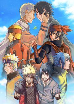Naruto x Sasuke Naruto Shippuden Sasuke, Naruto Kakashi, Anime Naruto, Sasunaru, Otaku Anime, Fan Art Naruto, Madara Susanoo, Naruto Cute, Narusasu