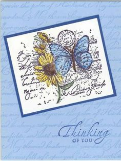 Garden Collage Butterfly by GmaWash - Cards and Paper Crafts at Splitcoaststampers