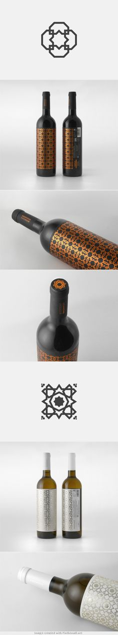 Clever combination of patterns and sophisticated printing techniques. #packagedesign #packaging #designinspiration