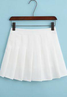 Pleated Tennis Skirt, White Pleated Skirt, Tennis Skirts, Tennis Dress, Gray Skirt, White Skirts, Mini Skirts, Hipster Skirt, Green Plaid Skirt
