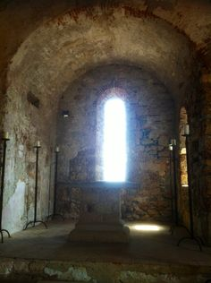 L'abside della Chiesa medievale di San Lorenzo a Varigotti.   http://www.chiesasanlorenzovarigotti.it