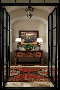 44 Amazing Ideas French Entryway Decor 43 Beautiful Spanish Colonial Entry On Th. 44 Amazing Ideas French Entryway Decor 43 Beautiful Spanish Colonial Entry On This Candelaria Design 7 Design Entrée, Flur Design, House Design, Design Ideas, Spanish House, Spanish Style, Spanish Revival, Entry Foyer, Entryway Decor
