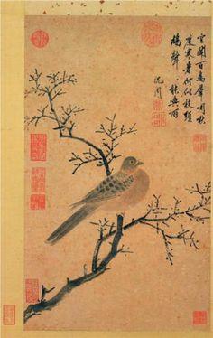 Turtledove Calling for Rain - Shen Zhou