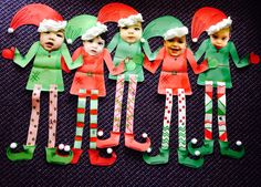 Funny Elf Family Craft http://freesamples.us