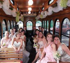 fadds party bus nashville, hello trolley nashville, wedding transportation, #nashville, #gettingmarried
