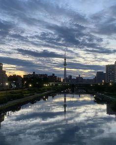 Tokyo Skytree, New York Skyline, River, Outdoor, Outdoors, Outdoor Games, The Great Outdoors, Rivers