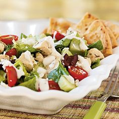 Weight watchers - Greek Chicken Salad