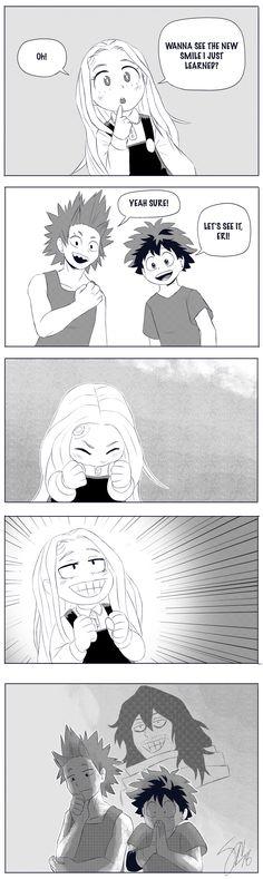 Wie der Vater so die Tochter - My Hero Academia Boku No Hero Academia, My Hero Academia Memes, Hero Academia Characters, My Hero Academia Manga, Memes Humor, Funny Memes, Like Father Like Daughter, Koro Sensei, Film Anime
