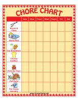 Printed out a chore chart, and covered it front and back with clear contact paper for cheap 'lamination'(I bought mine at Target). Add in small stickers and you have a reusable fully customized weekly chore chart Preschool Chore Charts, Preschool Chores, Weekly Chore Charts, Free Printable Chore Charts, Toddler Chores, Chore Chart Kids, Free Printables, Chore List, Preschool Activities