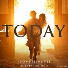 No warning. No Escape. #PompeiiMovie — NOW PLAYING nationwide! Get tix >> http://www.fandango.com/pompeii3d_170070/movietimes