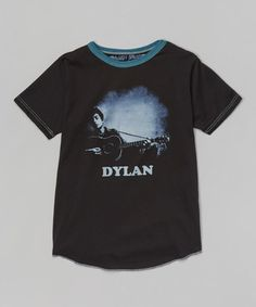 Another great find on #zulily! Black Bob Dylan Tee - Infant, Toddler & Boys by Rowdy Sprout #zulilyfinds