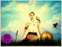 Goddess Freya  Creator: Zithirax Nettle  Site Design: http://mysticalartanddesign.weebly.com/   PLease feel free to share