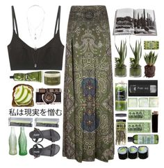 """Organic"" by shakesperiana ❤ liked on Polyvore"