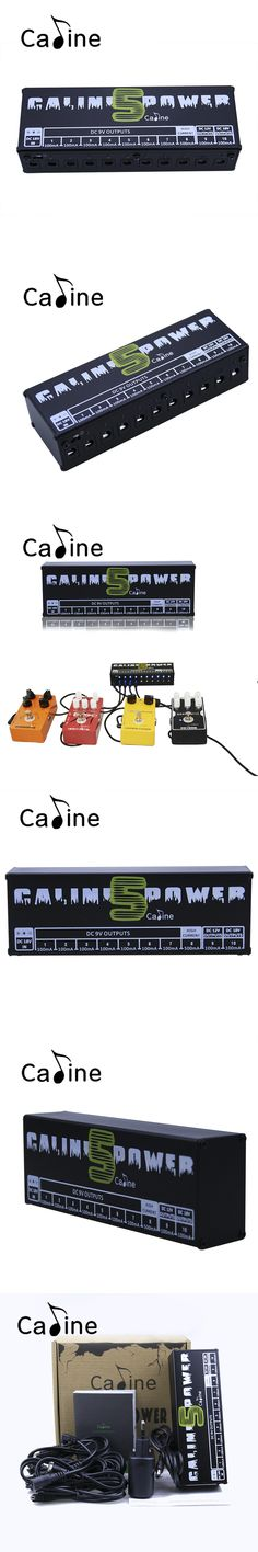 New Arrival Guitar Effect Pedals Power Supply Ten Isolated Outputs (9V, 12V, 18V) Voltage Protection Caline CP-05
