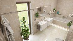 Elegantná moderná kúpeľňa Alcove, Bathtub, Bathroom, Standing Bath, Washroom, Bathtubs, Bath Tube, Full Bath, Bath