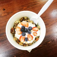 Paleo Muesli topped with #coyo available to takeaway @govitawarrnambool open from 8.30am. #breakfastontherun #paleo #govita #govita3280 #govitawarrnambool #destinationwarrnambool #eat3280 #shop3280 #155fairystreet #fitfood #crossfitwarrnambool #healthy #healthythermomixfood #cada by govitawarrnambool
