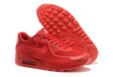 reputable site 5583e 0e8c9 Nike Air Max 90 Prem Tape Mens Glow in The Dark Christmas Red Nike Air Max