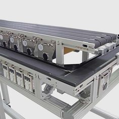 Montech AG is continually moving forward and always striving to improve our products. We are specialists in belt conveyors for the automation of transport systems, assembly and manufacturing processes. Conveyor System, Process Flow, English, English Language