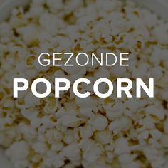 Wat doe je als je erg van popcorn houdt & graag popcorn eet terwijl je een film kijkt? Als het filmavond is dan maak ik gezonde popcorn, volgens dit recept.