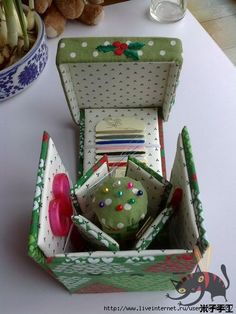1 (450x600, 131Kb) Exploding sewing box tutorial, with excellent diagrams                                                                                                                                                      More