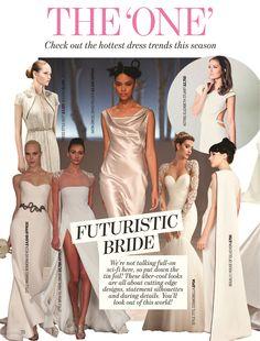Elizabeth Stuart Astrid Gown- Perfect Wedding Magazine May 2016 #elizabethstuart