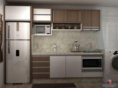 Olá gente...  Hoje vim mostrar os projetos dos móveis do meu ap.     Começando pela cozinha:            Área de serviço:              Sala d...