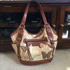 St.johns bay leather purse Like new st. john's bay Bags