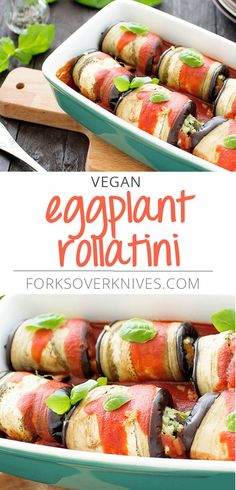 Delicious Eggplant Rollatini Recipe